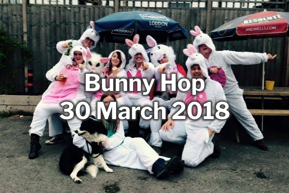 Burghfield Bunny Hop 30 March 2018