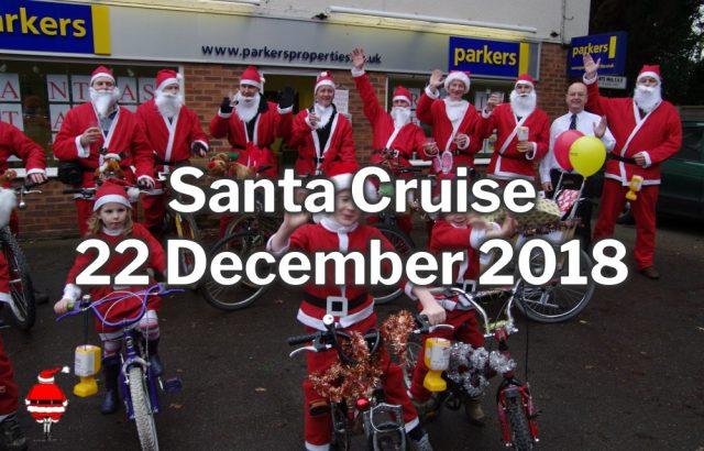 Burghfield Santa Cruise 2018-2
