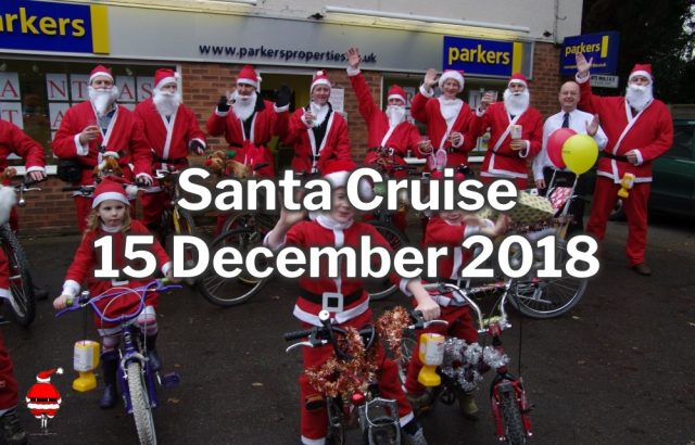 Burghfield Santa Cruise 2018