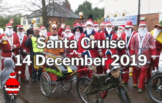 Burghfield Santa Cruise 2019