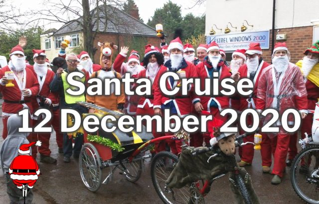 Burghfield Santa Cruise 2020