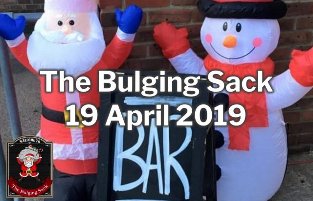 The Bulging Sack 2019